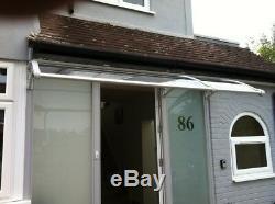 1000x3000mm DIY Door Canopy Polycarbonate Cantilever Garden Porch Patio Walkway