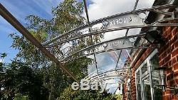 1270x10000mm DIY Door Canopy Polycarbonate Cantilever Garden Porch Patio Walkway
