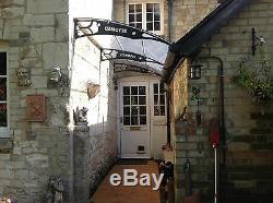 1270x3000mm DIY Door Canopy Polycarbonate Cantilever Garden Porch Patio Walkway
