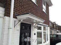 1370mm X 600mm X 160mm Georgian Style Door Canopy/porch