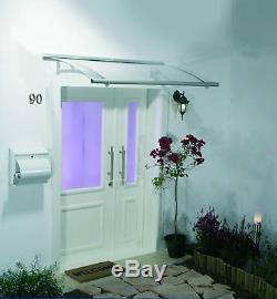 1500mm Window Door Entrance Porch Awning Rain Cover Canopy Shelter Roof Clear