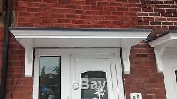 1500mm X 600mm DOOR CANOPY/PORCH SUPPLIED WITH GALLOWS BRACKETS