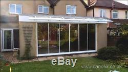 1500x7000mm DIY Door Canopy Polycarbonate Cantilever Awning Porch Patio Cover