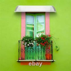150x100cm Door Window Canopy Awning Porch Sun Front Shade Shelter Rain Cover UK