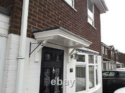 1900 Wide New Georgian Style Door Canopy/rain Porch With Gallows Brackets