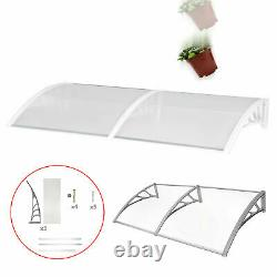 200 90cm Over Door Canopy Porch Front Rain Cover Awning Shelter Outdoor Patio