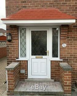 2700mm Amazon GRP Fibreglass Door Canopy 2700mm wide Free Brackets Porch