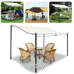 300D Door Canopy Awning Rain Shelter Front Back Porch Outdoor Shade Patio Roof