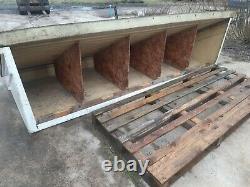 3.3 METER WIDE FIBERGLASS PORCH ROOF WITH STEEL PILLORS front door canopie
