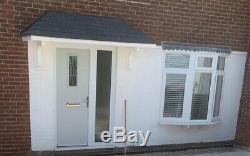 8ft Amazon GRP Fibreglass Door Canopy 8ft wide Free Brackets Porch