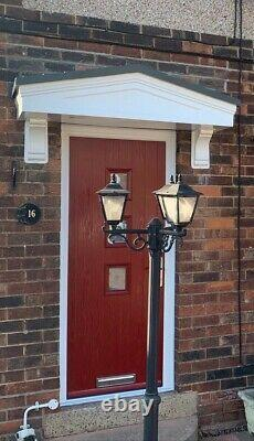 Alta Door Porch Canopy Free Brackets Anthracite Oak Rosewood White Free Delivery