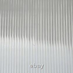Aluminum Outdoor Shed Cover Door Window Garden Shelter Canopy Roof Porch Awning