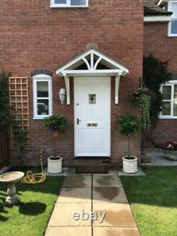 Apex Front Door Pine Porch Canopy + Gallows Brackets (1560mm)