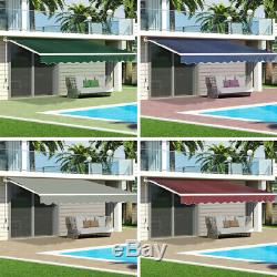Awning Door Canopy Window Front Back Porch Overhead Roof Rain Cover Outdoor Shad