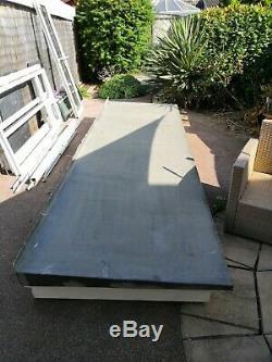 Bay Window Porch Canopy Roof UPVC / GRP 3.8 x 1.1m