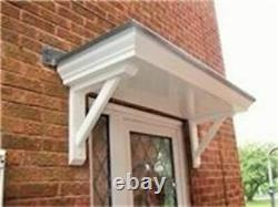 Bespoke Size Door Canopy/rain Porch With Gallows Brackets Call For Details