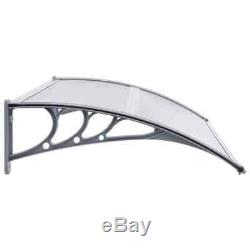 Best! Door Canopy PC Porch Awning Rain Shelter Roof Multi Colours Multi Sizes