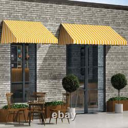 Bistro Awning 300x120cm Window Door Porch Canopy Sun Shade Protector Shelter