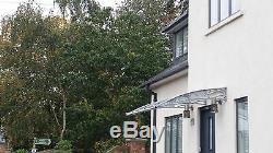 CANOFIX 1000x1500mm DIY Door Canopy Polycarbonate Cantilever Porch Patio Walkway