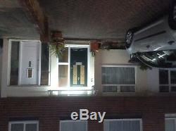 CANOFIX 1000x2000mm DIY Door Canopy Polycarbonate Cantilever Porch Patio Walkway