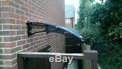 CANOFIX 1000x3500mm DIY Door Canopy Polycarbonate Cantilever Porch Patio Walkway
