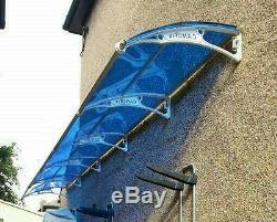 CANOFIX 1000x6000mm DIY Door Canopy Polycarbonate Cantilever Porch Patio Walkway