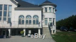 CANOFIX 1270x2500mm DIY Door Canopy Polycarbonate Cantilever Porch Patio Walkway