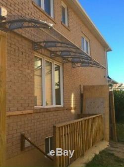 CANOFIX 1500x6000mm DIY Door Canopy Polycarbonate Cantilever Porch Patio Walkway