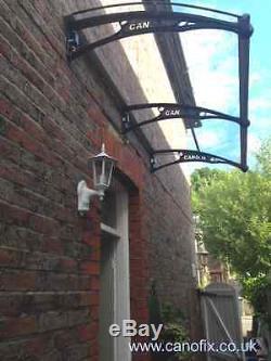 CANOFIX 650x 3000mm DIY Door Canopy Polycarbonate Cantilever Porch Patio Walkway