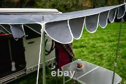 Campervan Awning Canopy OLPRO Retro Sun Shade Charcoal