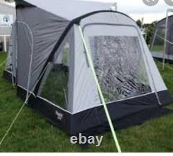 Caravan Porch Awning Kampa Rapid 260 Used but Good Condition