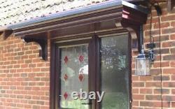 DELTA XL DOOR CANOPY GRP FIBREGLASS OVERDOOR FRONT PORCH CANOPY SIZE UPTO 4000mm