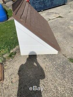 DOOR CANOPY GRP FIBREGLASS OVERDOOR FRONT PORCH CANOPY Brown White