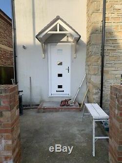 DOOR CANOPY GRP FIBREGLASS OVERDOOR FRONT PORCH CANOPY Grey