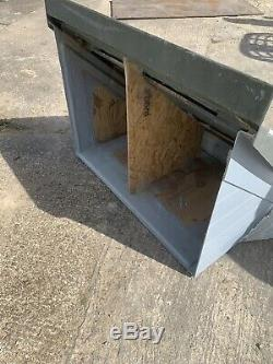 DOOR CANOPY GRP FIBREGLASS OVERDOOR FRONT PORCH CANOPY Grey anthracite New
