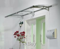 Door Canopy Aquila 2050mm x 920mm Door Awning, Smoking Shelter, Porch Cover