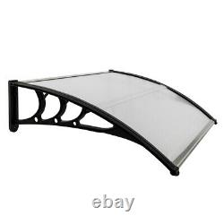 Door Canopy Awning Front Back Outdoor Porch Patio Window Roof Rain Shelter UK