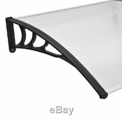 Door Canopy Awning Front Back Patio Porch Shade Shelter Outdoor Sun Rain Cover