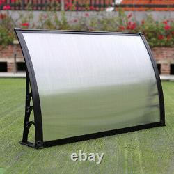 Door Canopy Awning Rain Shelter Front Back Porch Outdoor Shade Patio Roof Covers