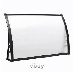 Door Canopy Awning Rain/Sun Shelter Front Back Porch Outdoor Shade Patio Roof UK