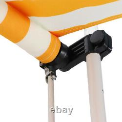 Door Canopy Awning Retractable Shelter Porch Outdoor Shade Patio Roof Rain Cover