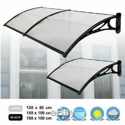 Door Canopy Awning Shelter Front Back Porch Canopy Outdoor Shade Patio Roof Rain