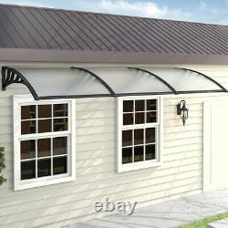 Door Canopy Awning Shelter Front Back Porch Outdoor Shade Cover Patio Roof New