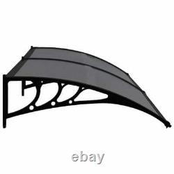 Door Canopy Awning Shelter Front Back Porch Outdoor Shade Patio Roof 120-300cm