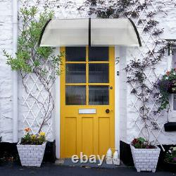 Door Canopy Awning Shelter Front Back Porch Outdoor Shade Patio Roof Rain