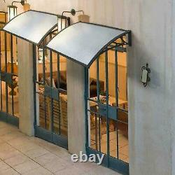 Door Canopy Awning Shelter Front Back Porch Outdoor Shade Patio Roof UK