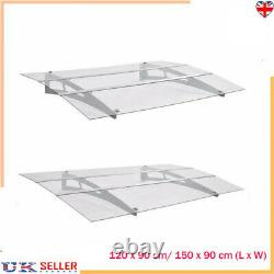 Door Canopy Awning Shelter Outdoor Front Back Porch Shade Patio Roof 120/150cm