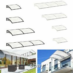 Door Canopy Awning Shelter Window Porch Rain Cover Outdoor Shade Patio Roof Wall