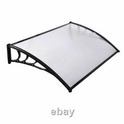 Door Canopy Awning Shelter Window Roof Rain Sun Front Porch Outdoor Cover