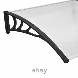 Door Canopy Awning Shelters Roof Front Back Porch Shade Patio Rain Covers